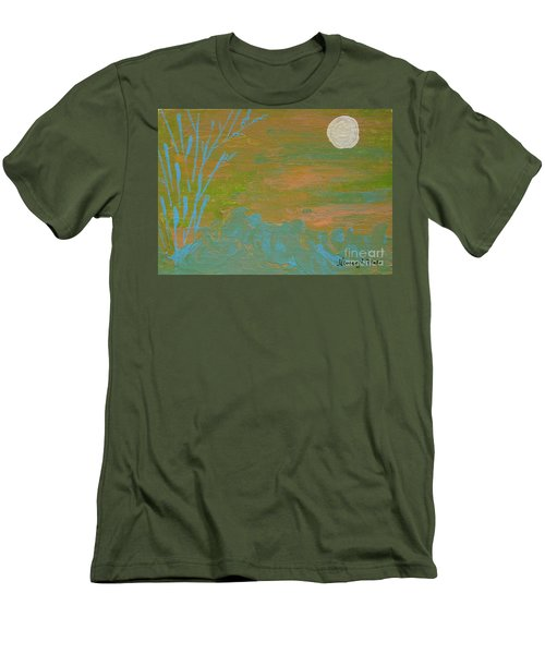 Moonlight In The Wild Men's T-Shirt (Athletic Fit)