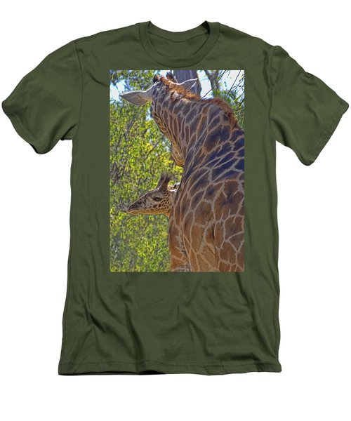 Men's T-Shirt (Slim Fit) featuring the photograph Mooom Im Bored by Gary Holmes
