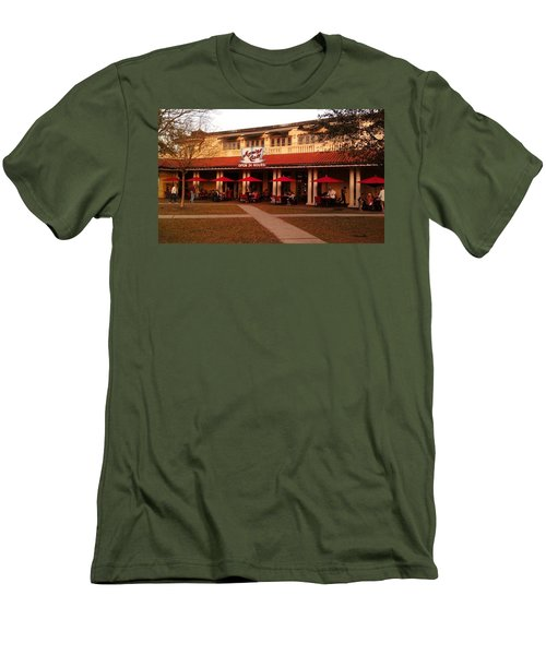 Morning Call In The Oaks - New Orleans City Park Men's T-Shirt (Athletic Fit)