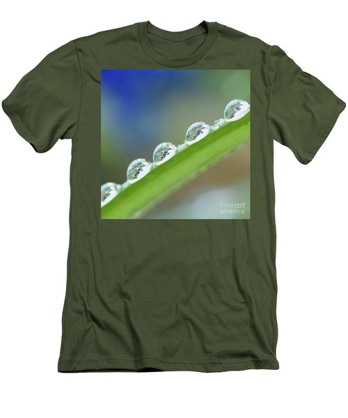 Morning Dew Drops Men's T-Shirt (Athletic Fit)