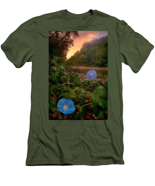 Morning Glory Men's T-Shirt (Athletic Fit)
