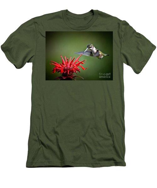 Morning Meal Men's T-Shirt (Slim Fit) by Cheryl Baxter