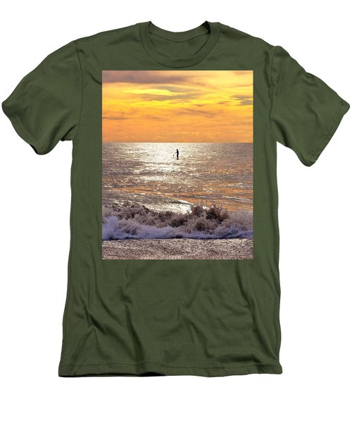 Sunrise Solitude Men's T-Shirt (Athletic Fit)