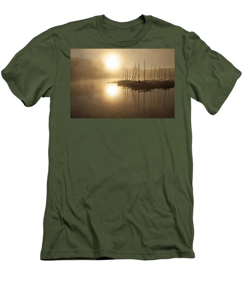 Morning Sun Men's T-Shirt (Slim Fit) by Eunice Gibb