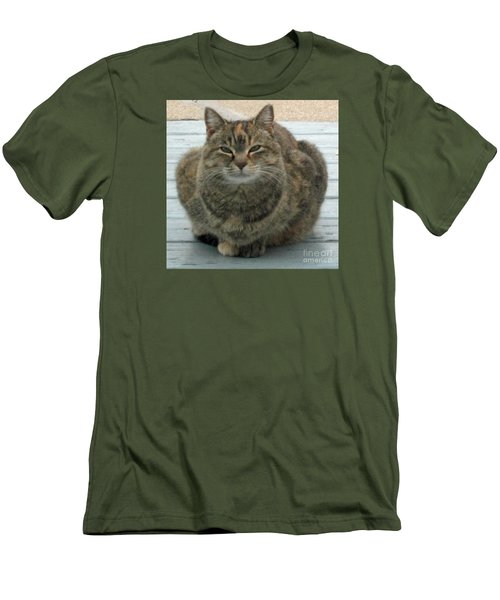 Muffin The Feral Cat Men's T-Shirt (Athletic Fit)