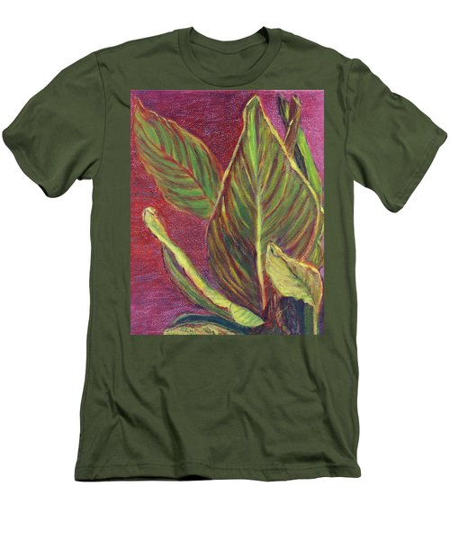 Multicolor Leaves Men's T-Shirt (Athletic Fit)