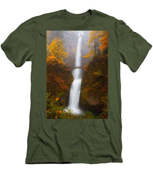 Multnomah Morning Men's T-Shirt (Slim Fit) by Darren  White