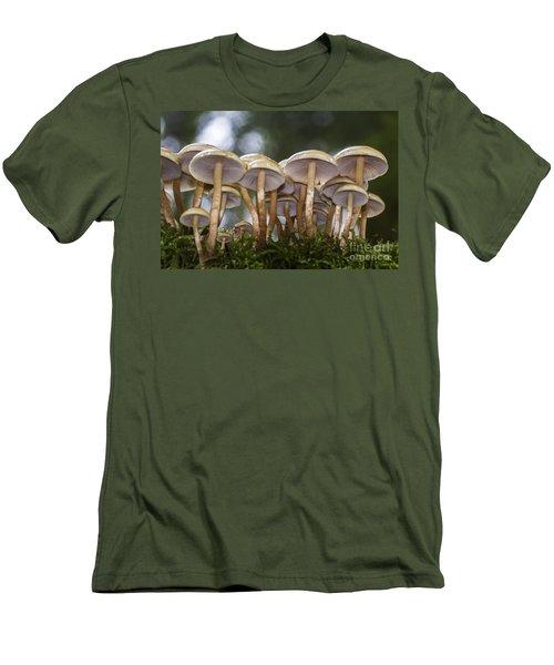 Mushroom Forest Men's T-Shirt (Athletic Fit)