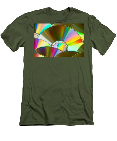 Music For The Eyes Men's T-Shirt (Athletic Fit)