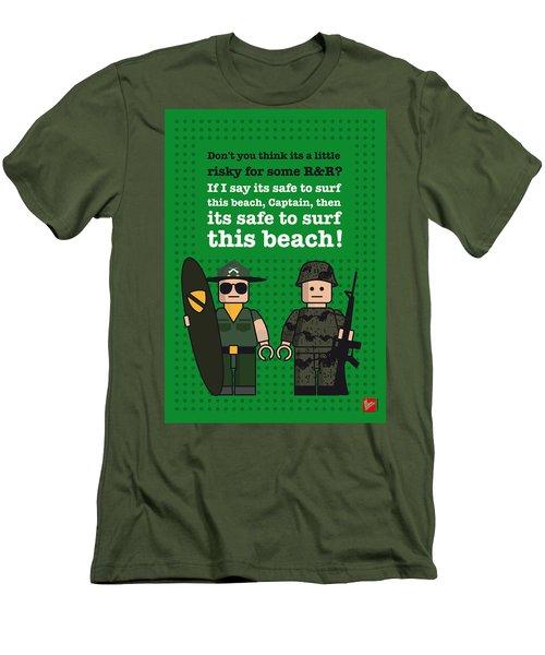 My Apocalypse Now Lego Dialogue Poster Men's T-Shirt (Athletic Fit)