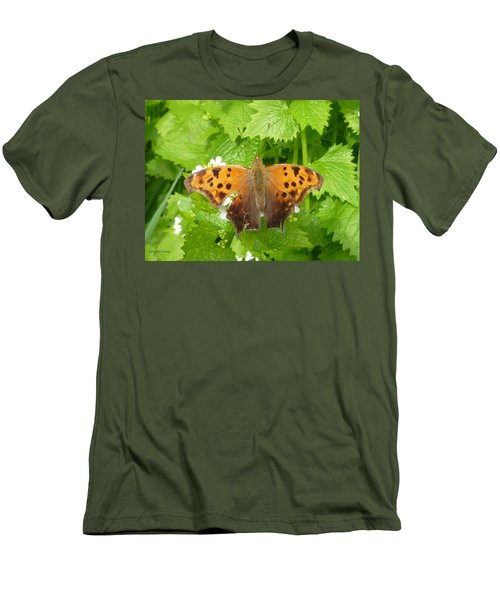 Men's T-Shirt (Slim Fit) featuring the photograph Mystery Lady by Lingfai Leung