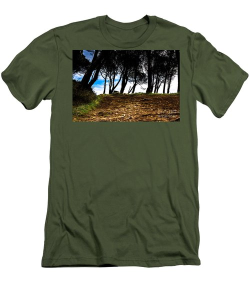 Mystery Of The Forest Men's T-Shirt (Athletic Fit)
