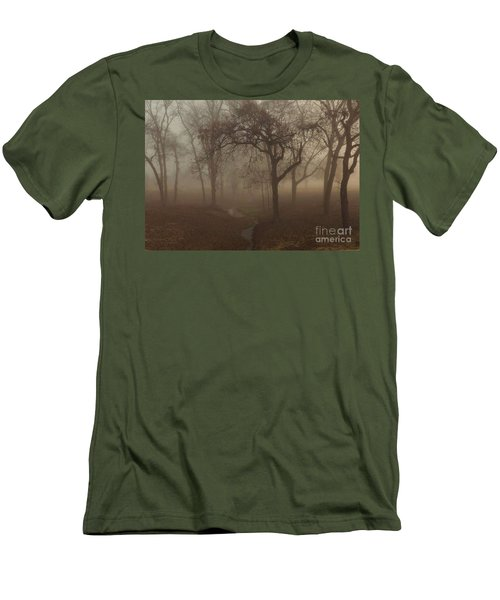 Mystic Forest 004 Men's T-Shirt (Athletic Fit)