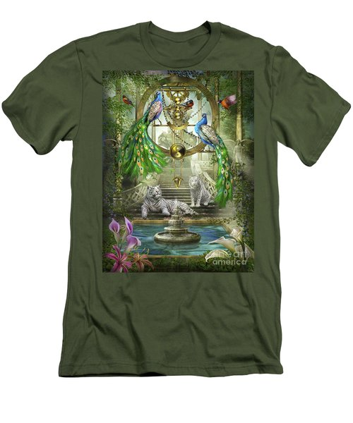 Mystic Garden Men's T-Shirt (Athletic Fit)
