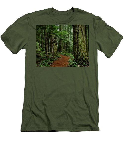 Mystical Path Men's T-Shirt (Athletic Fit)