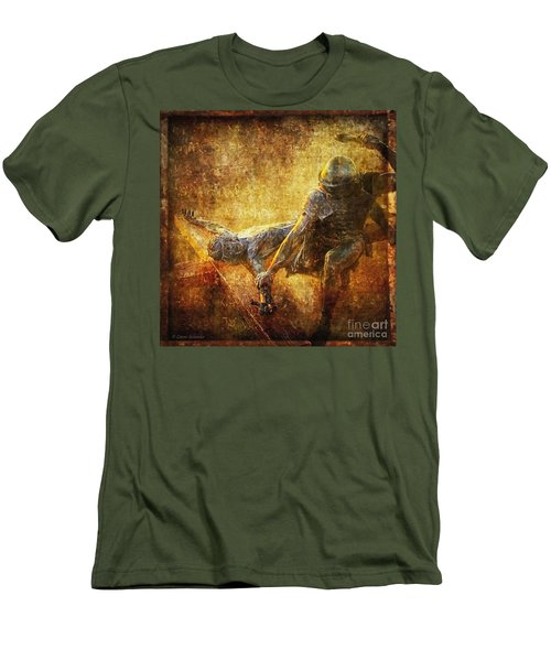 Nailed To The Cross Via Dolorosa 11 Men's T-Shirt (Athletic Fit)