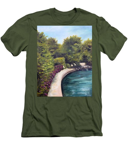 Naperville Riverwalk II Men's T-Shirt (Athletic Fit)