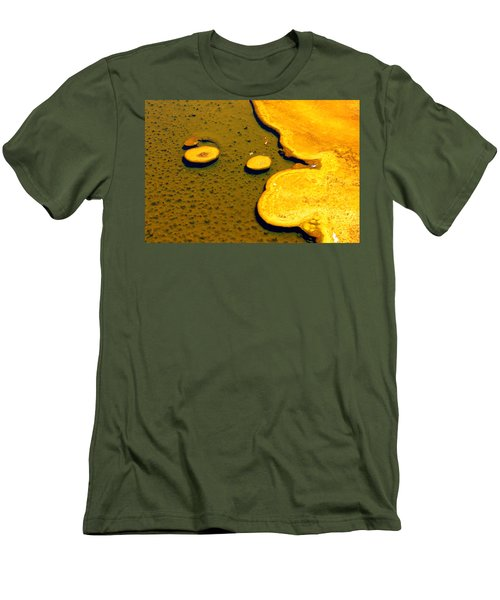 Natural Abstract Men's T-Shirt (Athletic Fit)