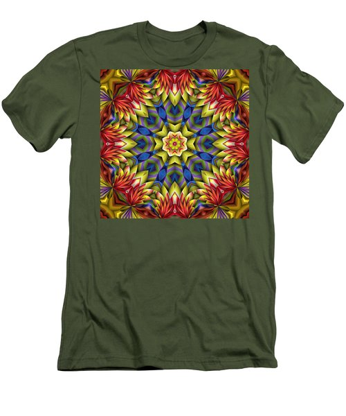 Natural Attributes 06 Square Men's T-Shirt (Slim Fit) by Wendy J St Christopher