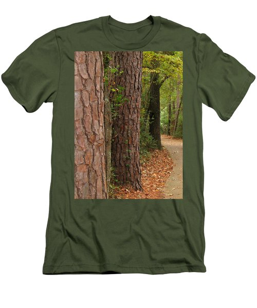 Natural Beauty Men's T-Shirt (Slim Fit) by Connie Fox