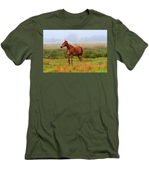 New Brunswick Horse Men's T-Shirt (Athletic Fit)