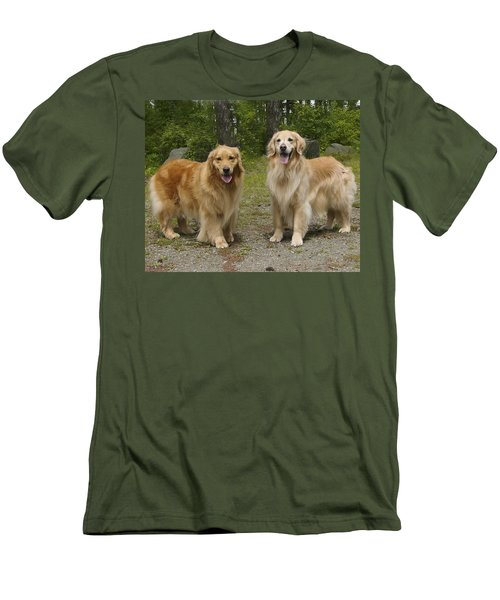 New Buddies Men's T-Shirt (Athletic Fit)