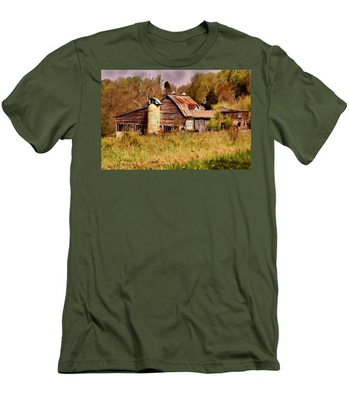 Newton Township Barn Men's T-Shirt (Athletic Fit)