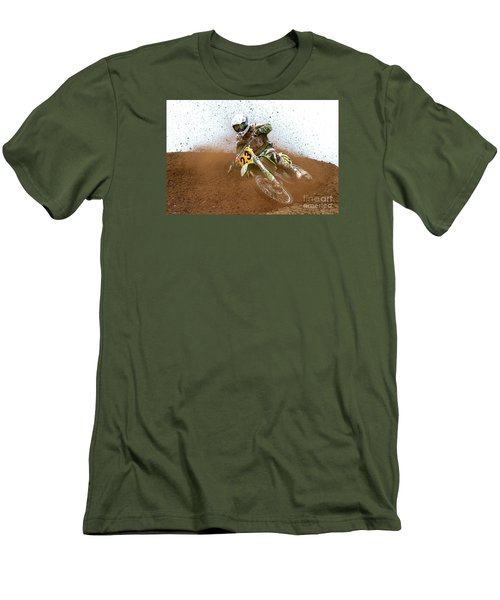 Men's T-Shirt (Slim Fit) featuring the photograph No. 23 by Jerry Fornarotto