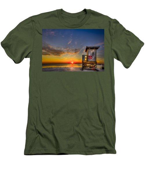 No Life Guard On Duty Men's T-Shirt (Slim Fit)