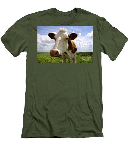 Nosy Cow Men's T-Shirt (Athletic Fit)