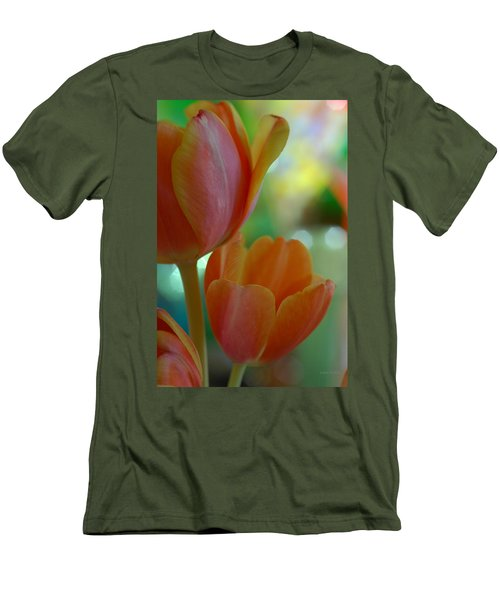 Nothing As Sweet As Your Tulips Men's T-Shirt (Athletic Fit)
