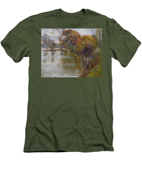 November 4th At Hyde Park Men's T-Shirt (Slim Fit) by Ylli Haruni