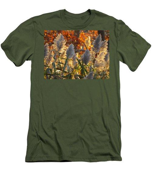 Men's T-Shirt (Slim Fit) featuring the photograph November Lights by Dianne Cowen