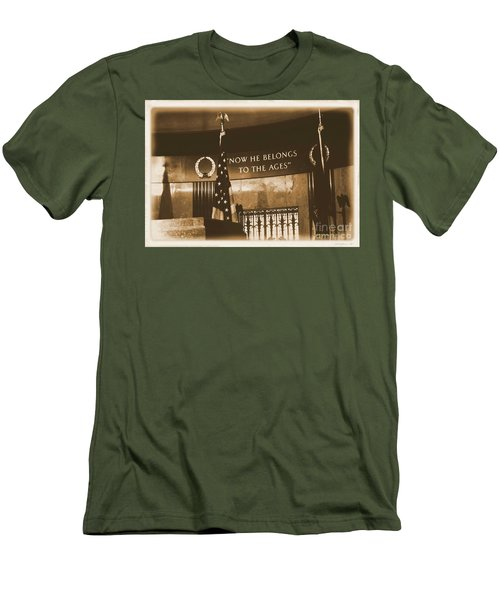 Men's T-Shirt (Slim Fit) featuring the photograph Now He Belongs To The Ages by Luther Fine Art