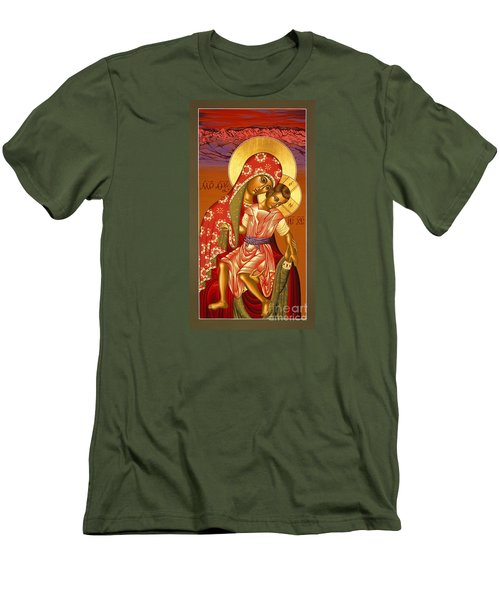 Nuestra Senora De Las Sandias 008 Men's T-Shirt (Slim Fit) by William Hart McNichols
