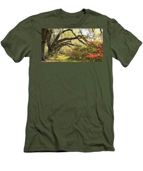 Oaks And Azaleas Men's T-Shirt (Athletic Fit)
