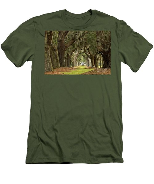 Oaks Of The Golden Isles Men's T-Shirt (Athletic Fit)