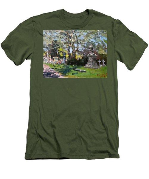 Oakwood Cemetery Men's T-Shirt (Athletic Fit)