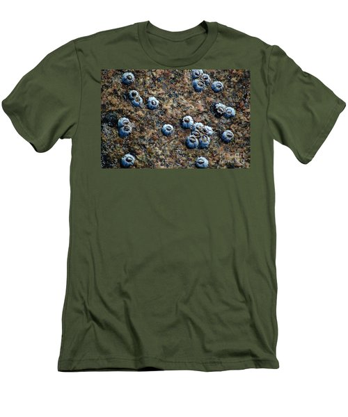 Men's T-Shirt (Athletic Fit) featuring the photograph Ocean's Quilt by Christiane Hellner-OBrien