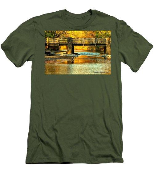 October At Robin Hood Dell Men's T-Shirt (Athletic Fit)