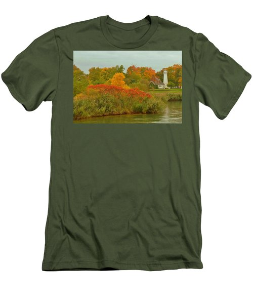 October Light Men's T-Shirt (Slim Fit) by Daniel Thompson