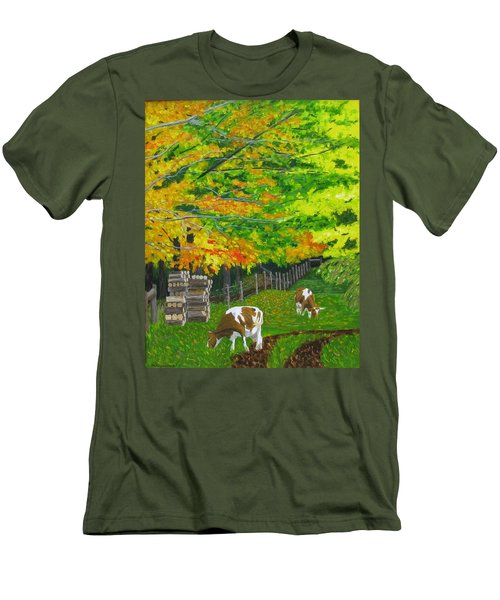 October Pasture Men's T-Shirt (Athletic Fit)