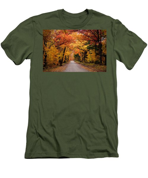 October Road Men's T-Shirt (Athletic Fit)