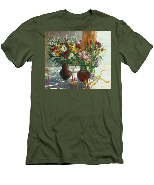 Of Bouquets Plexus Men's T-Shirt (Athletic Fit)