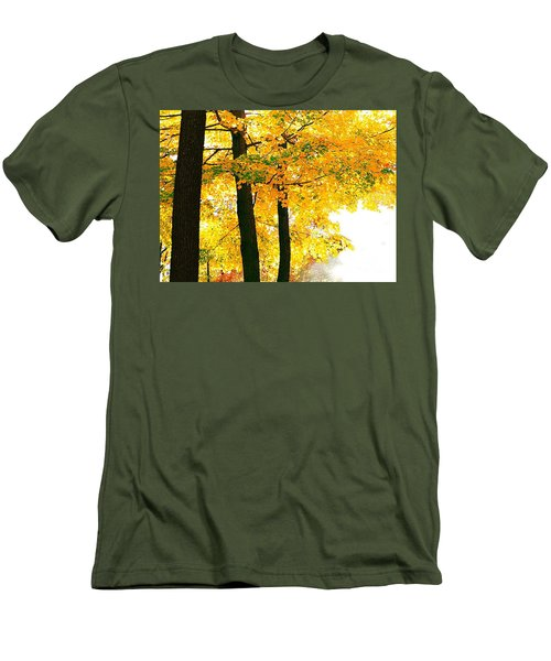 Ohio Autumn Men's T-Shirt (Athletic Fit)