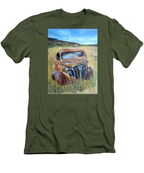Old Car Men's T-Shirt (Slim Fit) by Jieming Wang