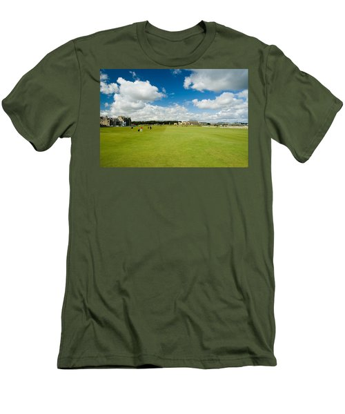 Old Course Fairways Men's T-Shirt (Athletic Fit)