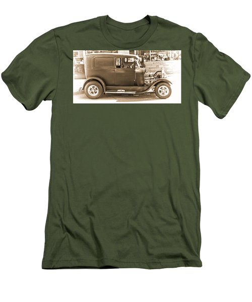 Old Ford Men's T-Shirt (Slim Fit) by Cathy Anderson