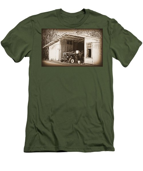 Men's T-Shirt (Slim Fit) featuring the photograph Old Ford by Faith Williams