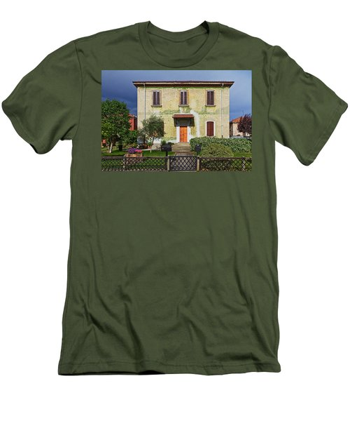 Old House In Crespi D'adda Men's T-Shirt (Athletic Fit)